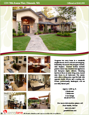 Home ...  Home For Sale Brochure