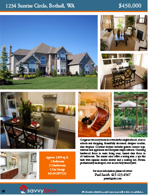 savvy lane for sale by owner flyers